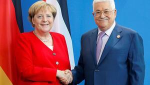 Merkel'den iki devletli çözüm önerisi