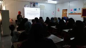 Suriyeli kadınlara 'Üreme Sağlığı ve Sağlıklı Annelik' eğitimi verildi
