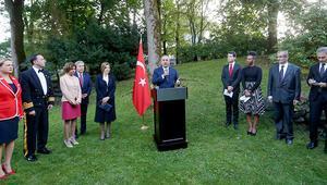 Çavuşoğlu, Norveç'te 30 Ağustos Zafer Bayramı resepsiyonuna katıldı
