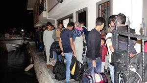 Ayvacıkta 51kaçak göçmen yakalandı