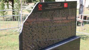Tirandaki 15 Temmuz Şehitler Anıtına saldırı
