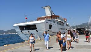 Muğlada kruvaziyer turizmi