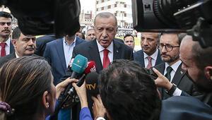 Son dakika... Cumhurbaşkanı Erdoğandan önemli açıklamalar: Göç var, bize doğru geliyorlar, tedbirli olmamız lazım