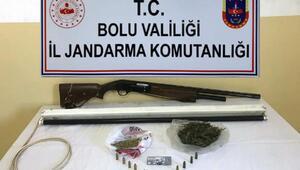 Boluda uyuşturucu operasyonları: 2 gözaltı