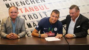 Son dakika transfer haberleri: Çaykur Rizespor, Marko Scepovic'i transfer etti