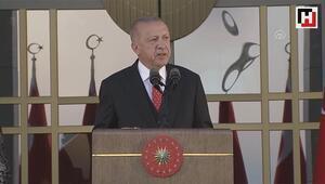 Cumhurbaşkanı Erdoğan, 30 Ağustos Zafer Bayramı dolayısıyla verilen resepsiyonda konuştu
