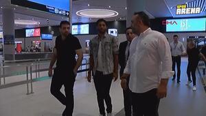 Beşiktaşın yeni transferi Mohamed Elneny İstanbulda