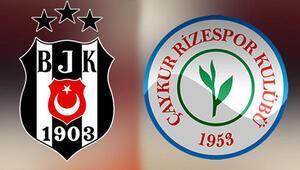 Beşiktaş-Çaykur Rizespor maçı ne zaman, saat kaçta, hangi kanalda yayınlanacak