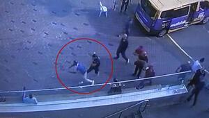 Taksimde dolandırıcıya polis çelmesi