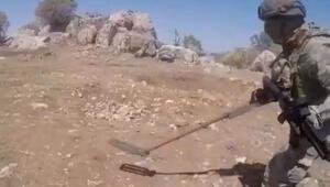 Son dakika: Pençe-3 Harekâtı'nda hain tuzak imha edildi