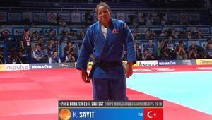 Milli judocu Kayra Sayitten bronz madalya