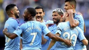 Manchester Cityden 4 gollü galibiyet