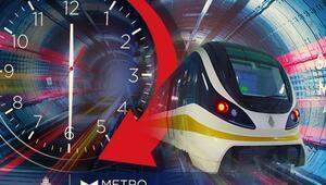 Metro ve Marmaray 24 saat açık mı