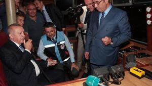 Cumhurbaşkanı Erdoğan telsizden balıkçılara seslendi