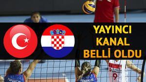 Türkiye Hırvatistan voleybol maçı saat kaçta ve hangi kanalda