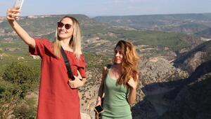 İnceğiz Kanyonu ziyaretçilerini hayran bırakıyor
