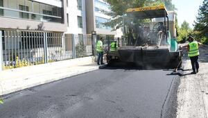 76 bin ton asfalt serildi
