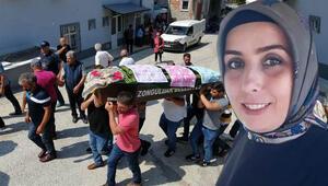 Eski eşinin öldürdüğü kadının cenazesi sonrası kavga çıktı