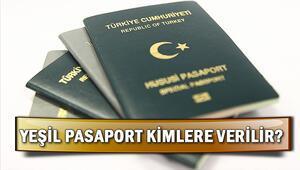 Yeşil pasaport kimlere verilir Yeşil pasaport başvurusu nası yapılır