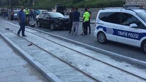 Kağıthanede feci kaza: 1 ölü 1 yaralı
