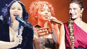 Şarkılar kadınlara