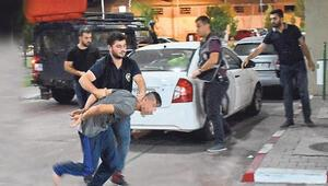 10 kişi geldiler, polis omzundan vurdu Film gibi kaçırma operasyonu
