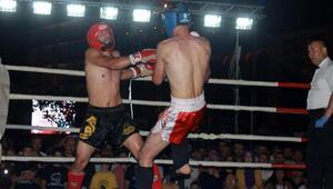 Giresunda kick boks heyecanı