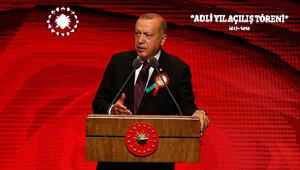 Son dakika: Cumhurbaşkanı Erdoğandan Adli Yıl Açılış Töreninde önemli mesajlar
