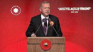 Cumhurbaşkanı Erdoğandan Adli Yıl Açılış Töreninde önemli mesajlar