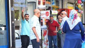 Diyarbakırda park yeri dehşeti