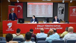 İşte Türkiye Kupasında 2. tur eşleşmeleri