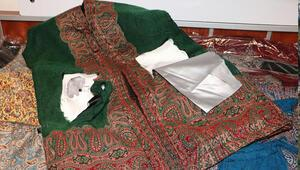 Osmanlı kaftanları ile uyuşturucu sevkiyatına 2 gözaltı