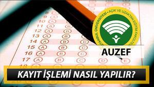 İstanbul Üniversitesi AUZEF kayıt işlemi nasıl yapılır