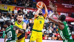 Senegal ikinci yarı çözüldü Avustralyadan 13 sayı fark...