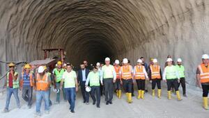 Hasankeyf Tünelinde sona yaklaşıldı