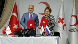 Türk Kızılayı ile Rus Kızılhaçı arasında işbirliği protokolü