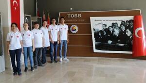 Liseliler, Japonyada Türkiyeyi temsil edecek