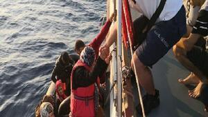 Didim açıklarında 89 kaçak göçmen yakalandı