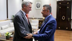 Cumhurbaşkanı Yardımcısı Oktay, BM heyetini kabul etti