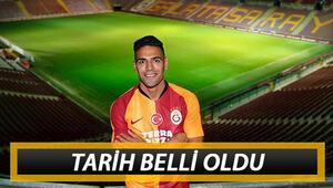 Galatasarayın imza töreni ne zaman Falcaoya ne zaman imza töreni yapılacak