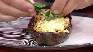 Fırında lorlu köz patlıcan nasıl yapılır Fırında lorlu köz patlıcan tarifi