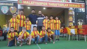 Malatyaspor taraftarlarından Baba beni maça götür projesi