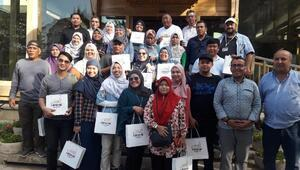 Malezyalı turistler Kırşehir'de