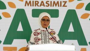 Emine Erdoğan: Ata Tohumu Projesi, tarımı milli bağımsızlığımızın anahtarı olarak gördüğümüzün de ifadesidir