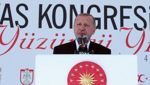 Cumhurbaşkanı Erdoğandan Sivasta önemli açıklamalar