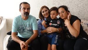 Beşiktaş taraftarı Taylan, umut arıyor