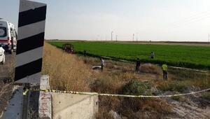 Motosiklet devrildi; kasksız sürücü öldü