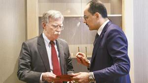Cumhurbaşkanlığı Sözcüsü Kalın, Bolton ile görüştü