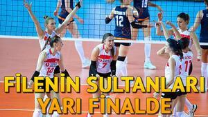 Filenin Sultanları yarı finalde Türkiye Kadın Voleybol yarı final maçı ne zaman oynanacak