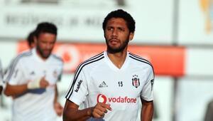 Beşiktaşta yeni transfer Elneny takımla ilk kez çalıştı